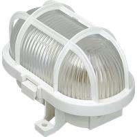 LK 60W WS - Deckenleuchte, 60 W, oval, weiß