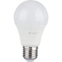 VT-7262 - LED-Lampe E27, 9 W, 806 lm, 6000 K