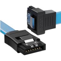 MK-MK1244 - SATA III 6Gb/s Kabel - 0,30m gewinkelt blau