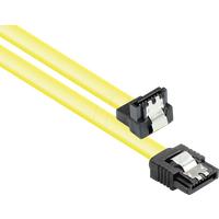 GC 5047-AW03Y - SATA 6 Gb/s mit Metallclip, gewinkelt, 0,3m