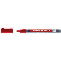 EDDING 361RT - Whiteboard Marker, 1,0 mm, rot