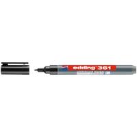EDDING 361SW - Whiteboard Marker, 1,0 mm, schwarz