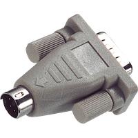 COM 919 - PS/2 Adapter, PS/2 auf 9-pol. D-Sub, BU/ST