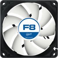 AC FAN F8 - Arctic Gehäuselüfter F8, 80 mm