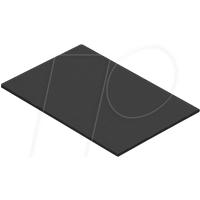 EASY ABG00013 - Blindplatte, Schwarz RAL 9005