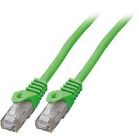 EFB K8104GN.0.5 - Cat.6 U/UTP Patchkabel CCA, 0,5 m, grün