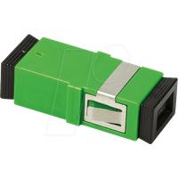LOGILINK FA03SC6 - LWL Kupplung SC/APC, ohne Flansch, mit Laserschutz