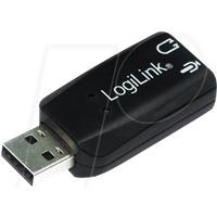 LOGILINK UA0053 - Soundkarte, extern, 5.1, USB 2.0