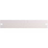 MR 10-PLATTE - Blindplatte für Mini-Rack 25,4cm(10'')