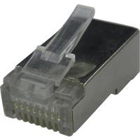 RND 765-00010 - RJ45-Stecker 8P8C mit Gehäuse
