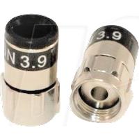 CC 99909621-03 - F-Stecker, Self Install, TrueDrop 3.9