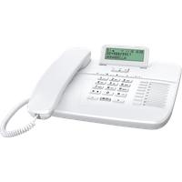GIGASET DA710 WS - Telefon, schnurgebunden, weiß