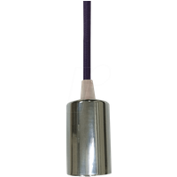 VT-3790 - Hängeleuchte, 60 W, rund, chrom, lila