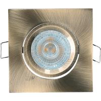 GL 4285 - Deckeneinbauring, eckig, schwenkbar, bronze