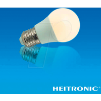 HEIT 15040 - LED-Lampe E27, 6 W, 480 lm, 3000 K, flackerfrei