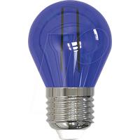 SKY LL-HBFC2702B - LED-Lampe E27, 2 W, blau, Filament