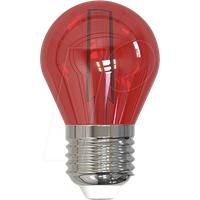 SKY LL-HBFC2702R - LED-Lampe E27, 2 W, rot, Filament