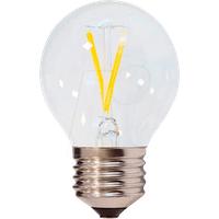 OPT 1865 - LED-Lampe E27, 2 W, 200 lm, 4500 K, Filament, Minibulb