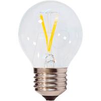 OPT 1866 - LED-Lampe E27, 2 W, 200 lm, 2700 K, Filament, Minibulb