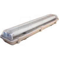 OPT 6733 - LED-Wannenleuchte, 18 W, 1400 lm, 6000 K, 68,0 cm, IP65, 2 flamm
