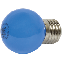 SYN 124275 - LED-Lampe E27, 1 W, blau