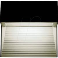 VT-1398 - Wandleuchte, Stufendesign, 3 W, 210 lm, 3000 K, eckig, schwarz
