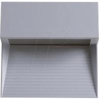 VT-1400 - Wandleuchte, Stufendesign, 3 W, 210 lm, 3000 K, eckig, grau