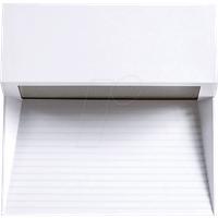 VT-1403 - Wandleuchte, Stufendesign, 3 W, 210 lm, 4000 K, eckig, weiß