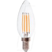 VT-4365 - LED-Lampe E14, 4 W, 350 lm, 2700 K, Filament, dimmbar