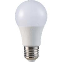 VT-7261 - LED-Lampe E27, 9 W, 806 lm, 4500 K
