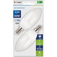 VT-7291 - LED-Lampe E14, 5,5 W, 470 lm, 2700 K