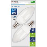 VT-7293 - LED-Lampe E14, 5,5 W, 470 lm, 6400 K