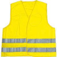 KFZ WARNWESTE G - KFZ - Warnweste, universal passend, DIN EN ISO 20471, gelb