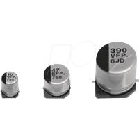 RD EKON 330UF - Aluminium-Elektrolytkondensatoren 330µF
