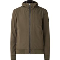 Airforce Softshell water- en windbestendig jack met capuchon