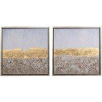 Set de 2 lienzos enmarcados Landscape
