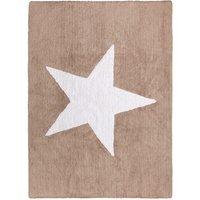 Alfombra lavable Linen Star
