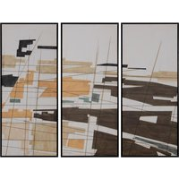 Set de 3 cuadros Abstractos