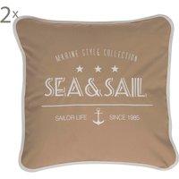 Set de 2 cojines Sea & Sail