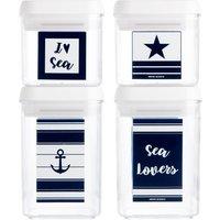 Set de 4 tarros Sea Lovers