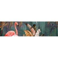 Alfombra vinílica Flamingo, 250 X 64 cm