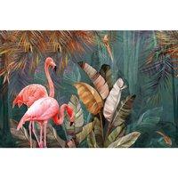 Alfombra vinílica Flamingo, 295 X 195 cm