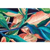 Alfombra vinílica Leaves, 143 X 97 cm