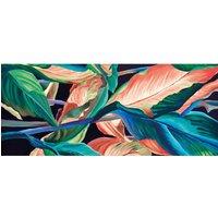 Alfombra vinílica Leaves, 150 X 65 cm