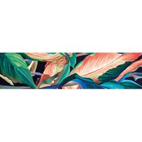 Alfombra vinílica Leaves, 250 X 64 cm