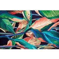 Alfombra vinílica Leaves, 295 X 195 cm