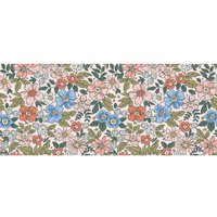 Alfombra vinílica Flowers, 150 X 65 cm