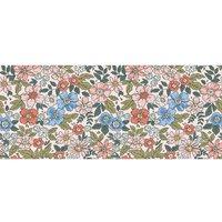 Alfombra vinílica Flowers, 175 X 74 cm