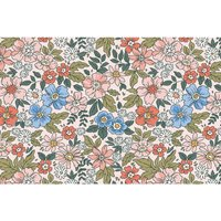 Alfombra vinílica Flowers, 196 X 130 cm
