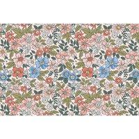 Alfombra vinílica Flowers, 295 X 195 cm